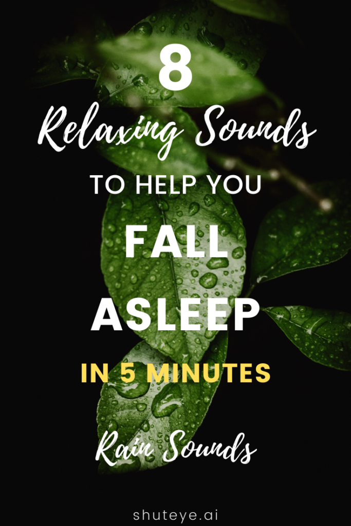 RELAXING SOUNDS TO HELP YOU SLEEP