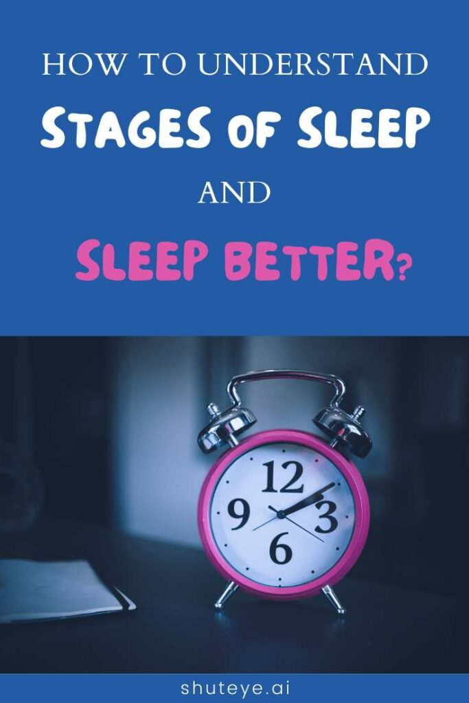 ShutEye stages of sleep in order sleep cycle