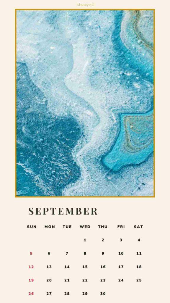 ShutEye Free Printable Calendar
