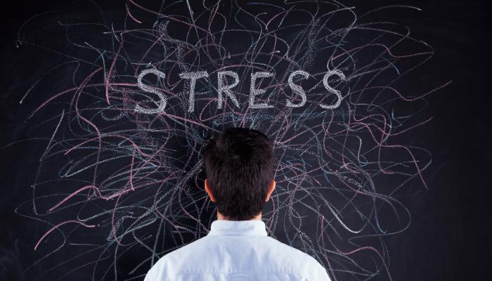 sleep talking of stress