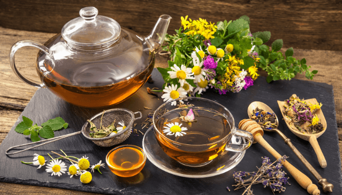 A Nice Herbal Tea