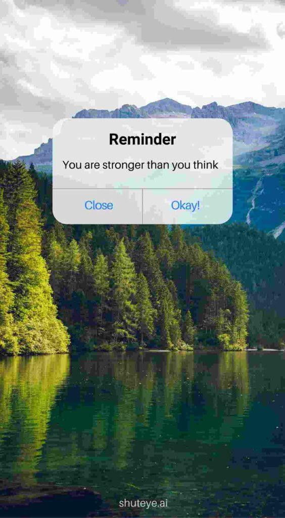 ShutEye Reminder Wallpaper