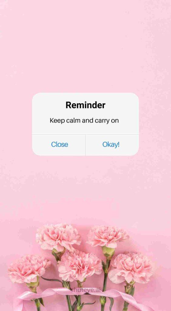 ShutEye reminder wallpapers reminder background1