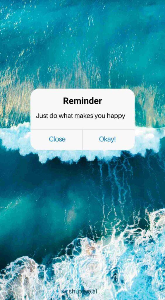ShutEye reminder wallpaper reminder pictures