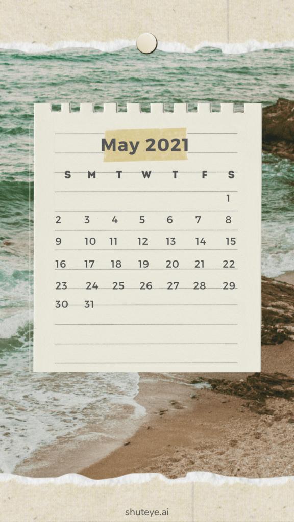 Printable May Calendar 2021 | Free Printable Calendars