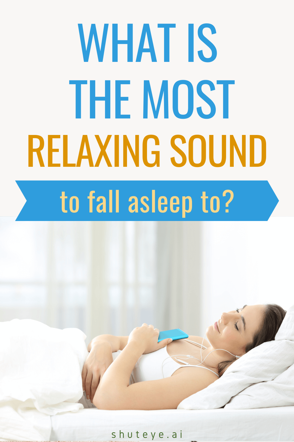 What is the Most Relaxing Sound to Fall Asleep to?