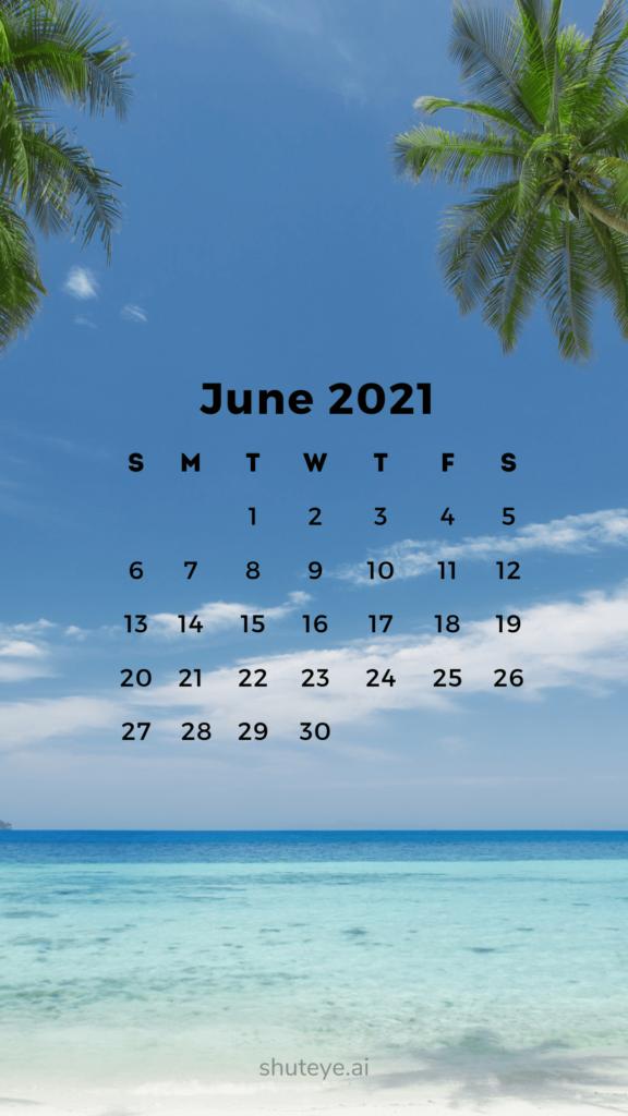 Printable June Calendar 2021 | Free Printable Calendars