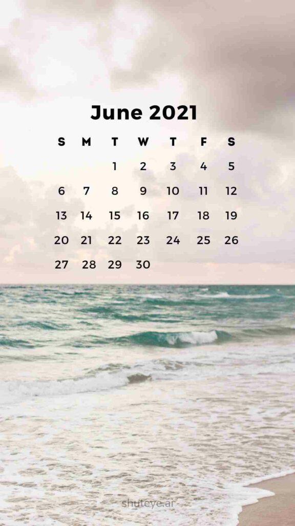 ShutEye Free Printable June Calendar1