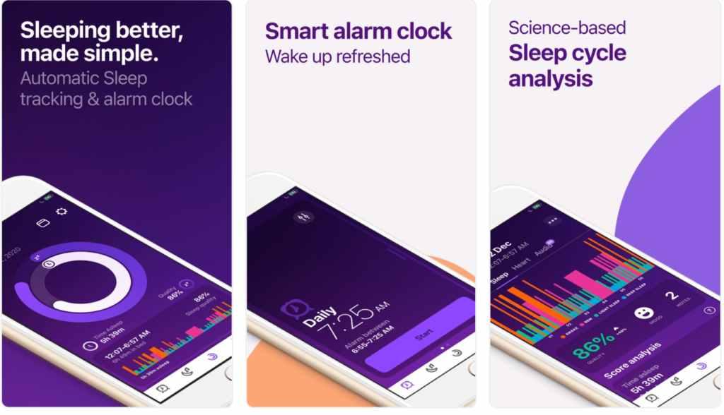 ShutEye best free apps for sleep tracking pillow