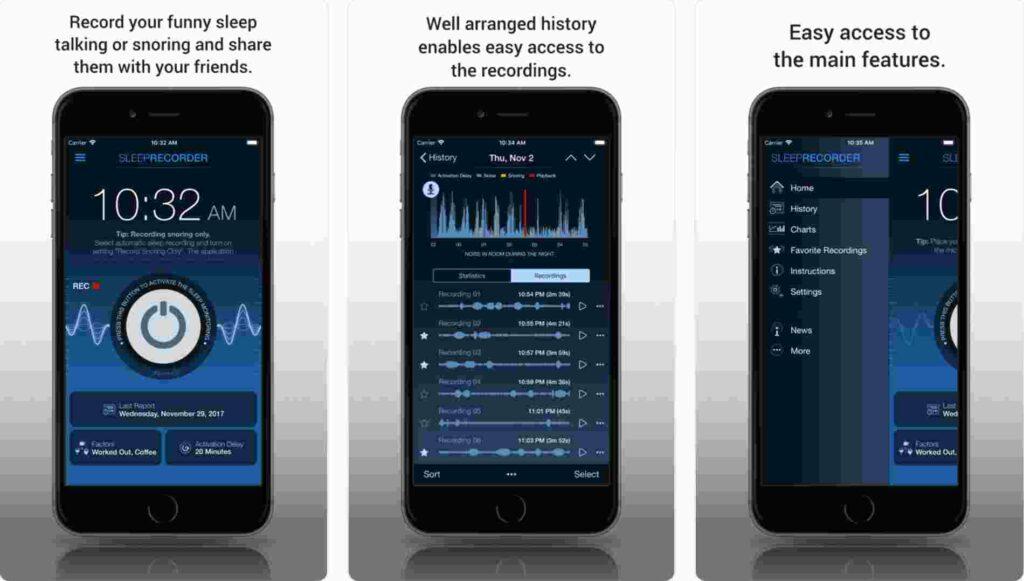 ShutEye best free apps for sleep tracking prime sleep recorder