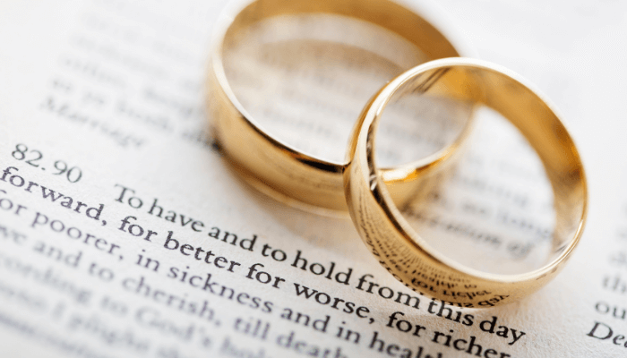 Dream of getting married when you're single