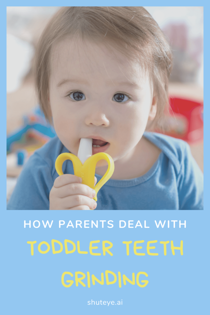 What should parents do about toddler teeth grinding?