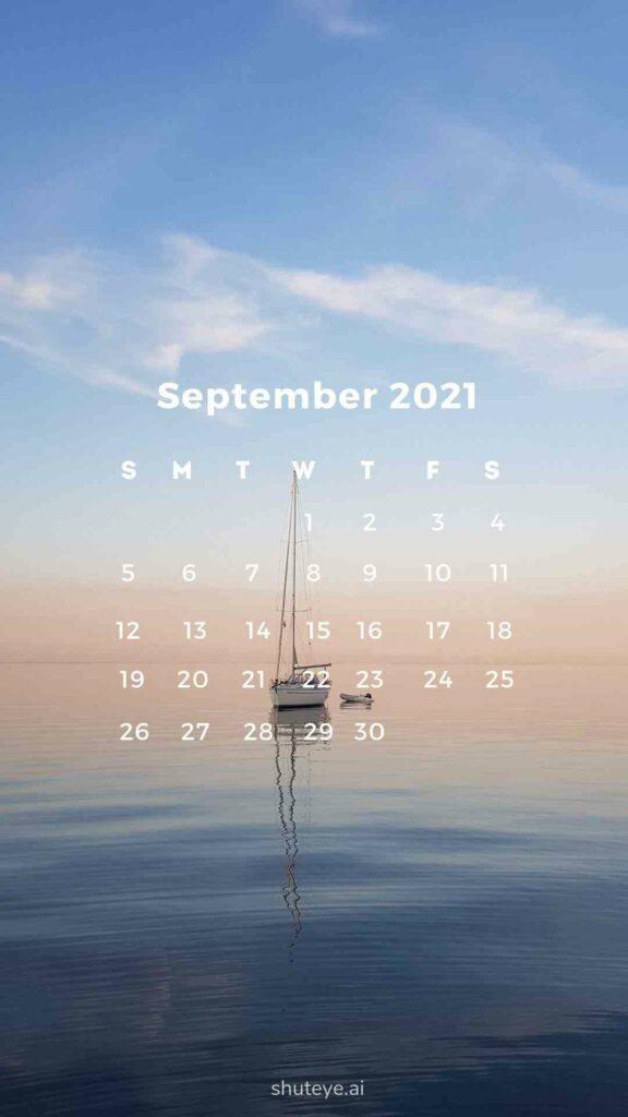 ShutEye Free Printable September Calendar
