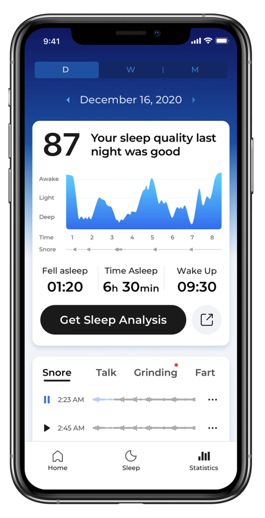 ShutEye best sleep tracker app sleep recorder