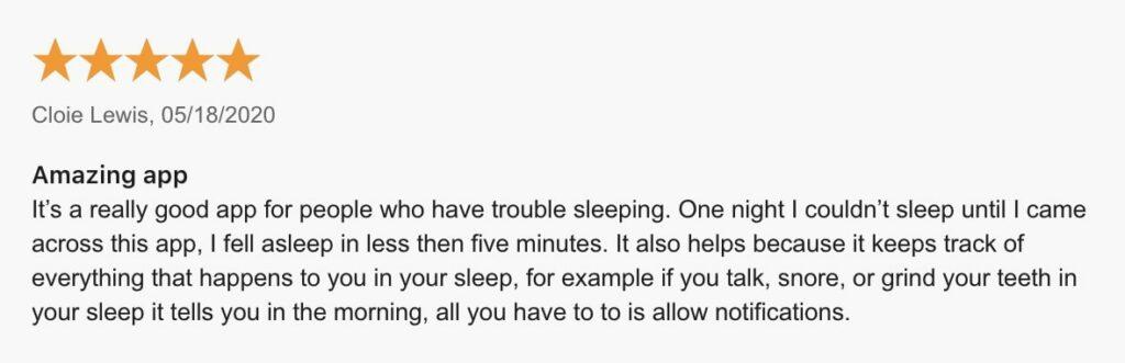 amazing sleep sounds ShutEye App Reviews