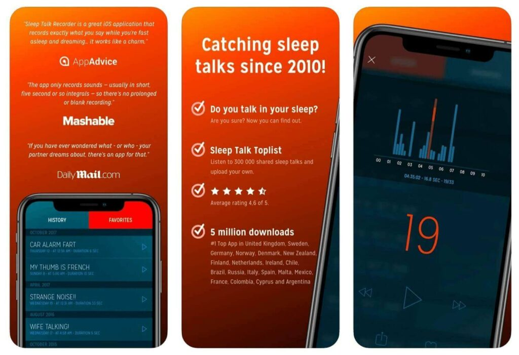 Best Sleep Talk Recording App