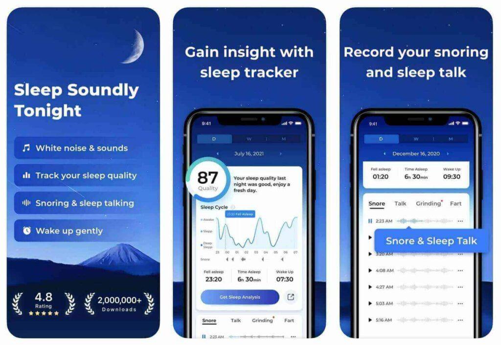 ShutEye sleep cycle alternatives sleep tracker app